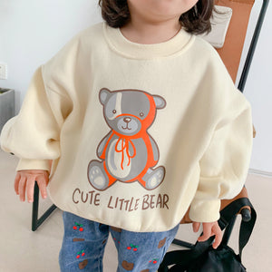 Cute Little Bear Pullover