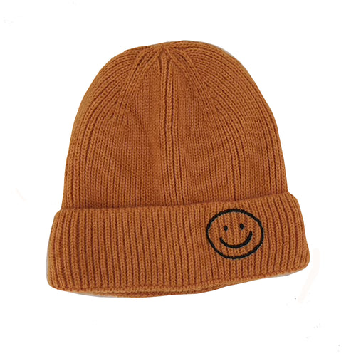 Harlow Knit Beanie, Orange