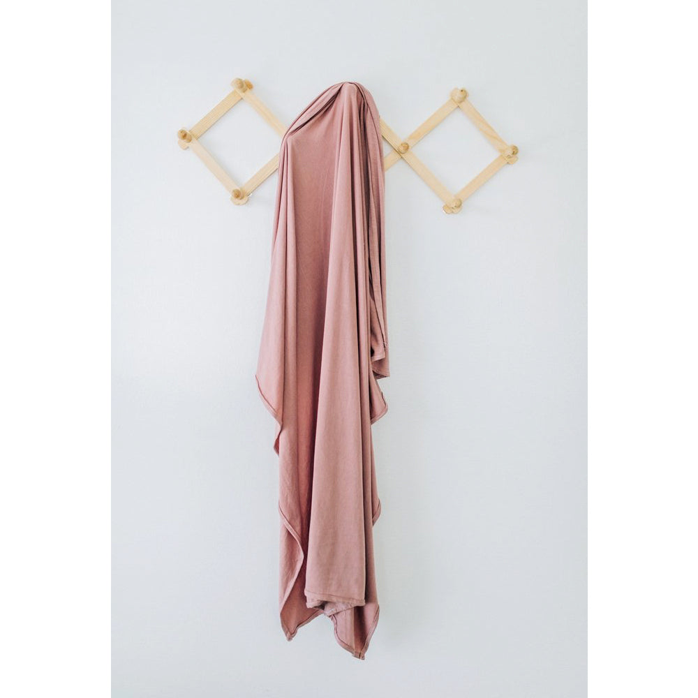 Stretch Swaddle, Dusty Rose