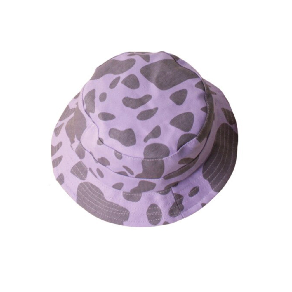 Cow Print Bucket Hat, Orchid