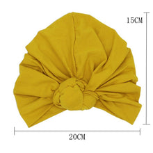 Load image into Gallery viewer, Twist Knot Turban, Bumblebee
