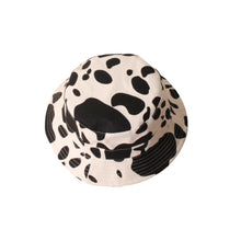 Load image into Gallery viewer, Cow Print Bucket Hat, Beige