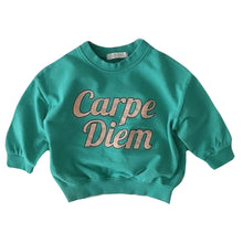 Load image into Gallery viewer, Candy Pop Crew Neck, Lagoon Green