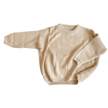 Load image into Gallery viewer, Harlow Knit Sweater, Cream