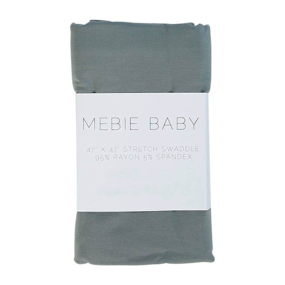Stretch Swaddle, Dusty Blue