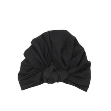 Load image into Gallery viewer, Twist Knot Turban, Midnight