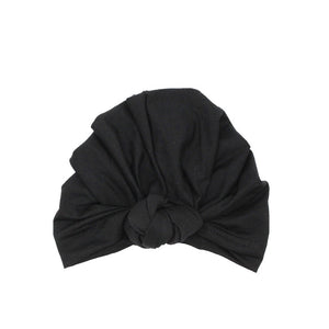 Twist Knot Turban, Midnight