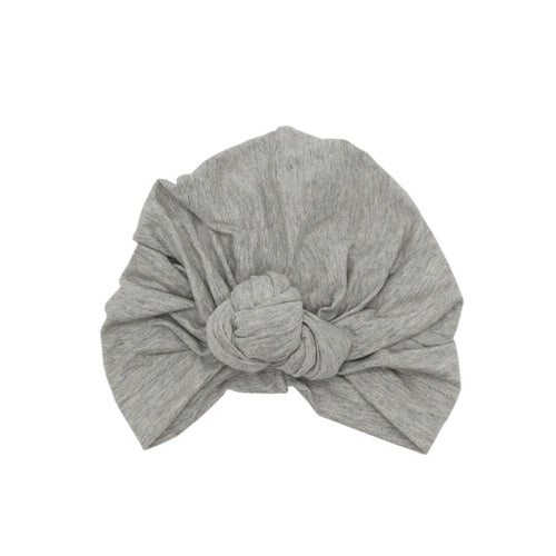 Twist Knot Turban, Fog Grey