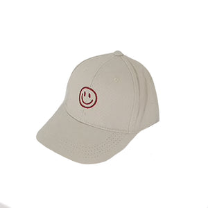 Harlow Kids Baseball Hat, Cream