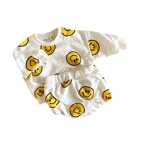 Smiley Face Summer Set, Yellow