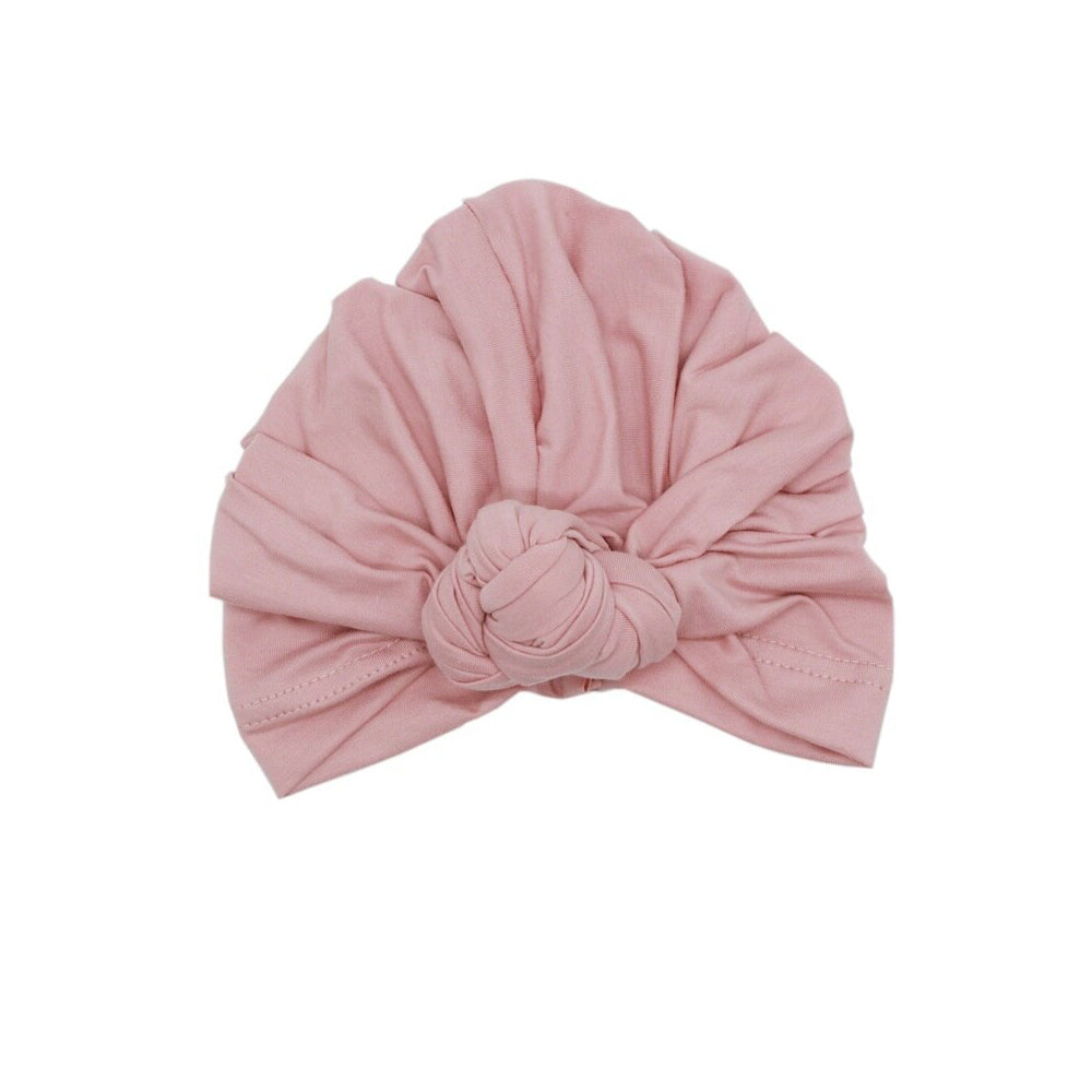 Twist Knot Turban, Rose