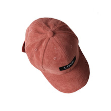 Load image into Gallery viewer, LOVE Baseball Hat, Sandy Red