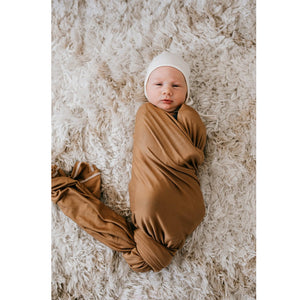 Stretch Swaddle, Mustard