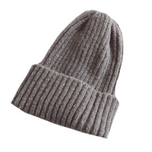 Load image into Gallery viewer, Warm Knitted Beanie, Stone