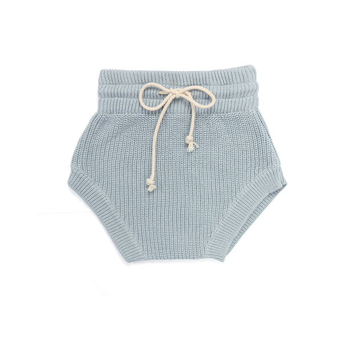 Harlow Knit Bloomer Short, Powder Blue
