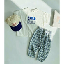 Load image into Gallery viewer, Smile Ragged Set, Blue