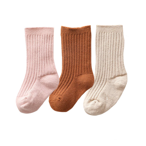 Cashmere Sock Bundle, Desert Rose