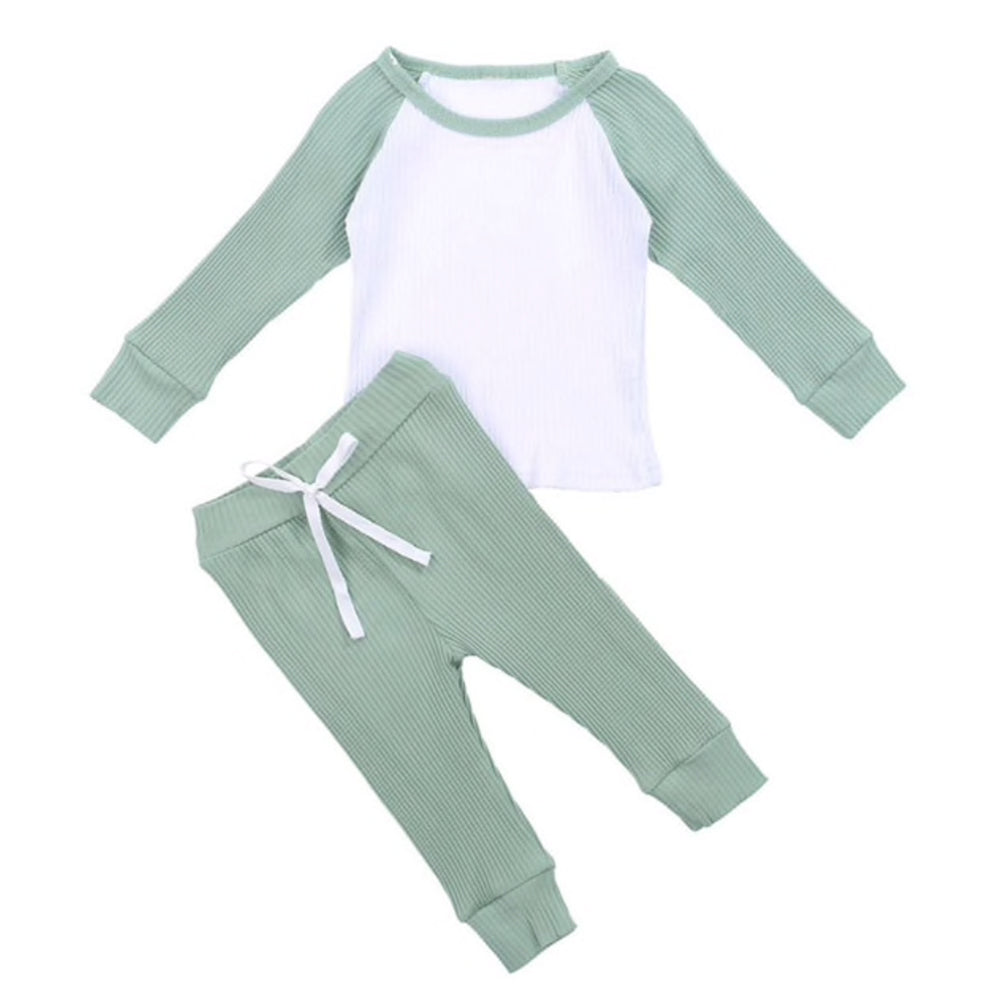 Raglan Lounge Set, Mint