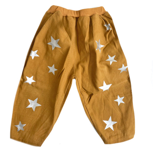 Star Trousers, Dark Mustard