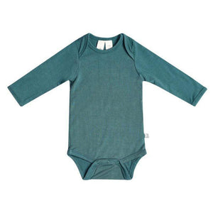 Long Sleeve Bodysuit, Emerald