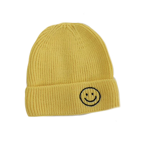 Harlow Knit Beanie, Yellow