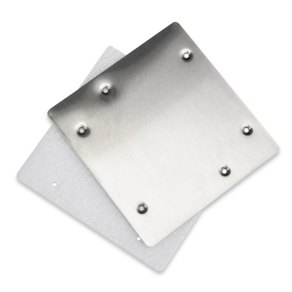 Hydrotools Standard Skimmer Stainless Steel Winterizing Plate