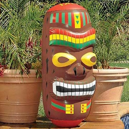 Inflatable Pool Toys Swimline Inflatable Tiki Totem Pool Toy and Bop Bag - Grizzly Supply Co