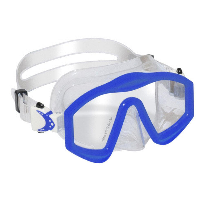 Swimline DiveSite Islamorada Panoramic Style Silicone Youth Dive Mask