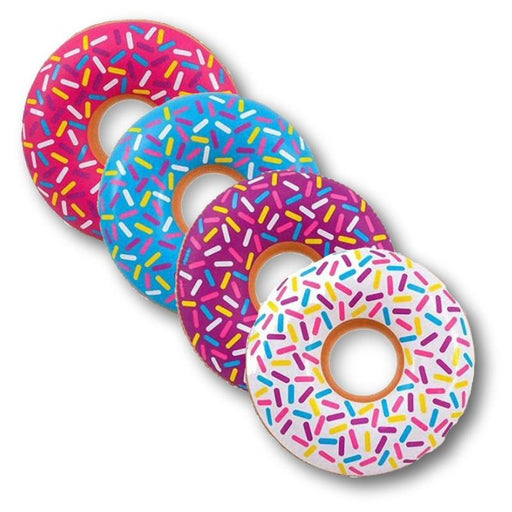 "Donut Pool Party Pack with 4 each 32"" Donuts with Sprinkles"