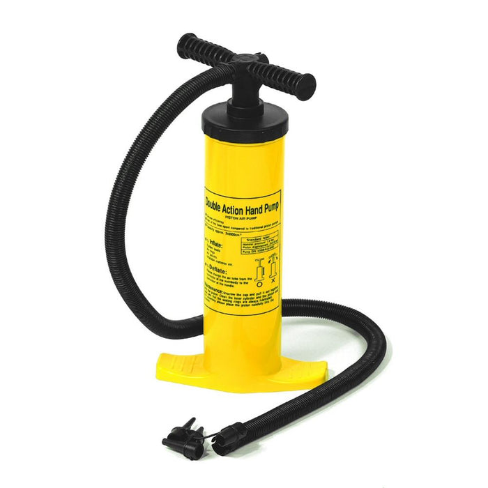 air pump Swimline 9096 Dual Action Hand Operated Air Pump - Grizzly Supply Co