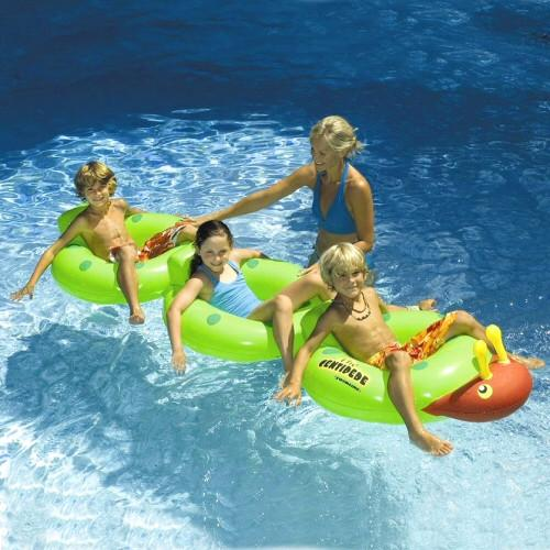 Inflatable Pool Toys Swimline Centipede Inflatable Ride-on Swimming Pool Toy - Grizzly Supply Co