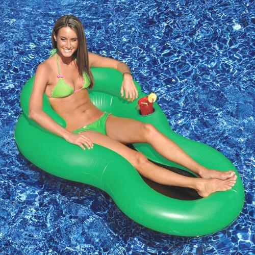 Inflatable Pool Toys Swimline Cool Chair Inflatable Swimming Pool Lounge - Grizzly Supply Co