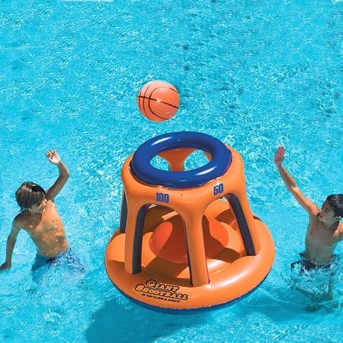Inflatable Pool Toys Swimline Giant Shootball Inflatable Basketball Swimming Pool Game - Grizzly Supply Co