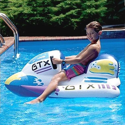 Inflatable Pool Toys Swimline Waterbike Inflatable Ride On Pool Toy - Grizzly Supply Co