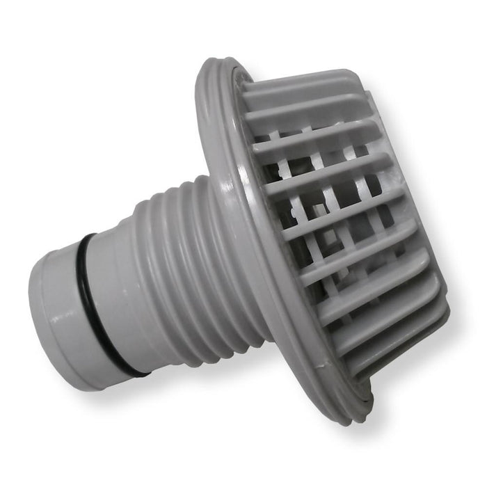 "Summer Escapes Parts Summer Escapes Pool Suction Wall Fitting for 1-1/2"" Hose - Grizzly Supply Co"