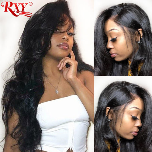 Lace Front Brazilian Body Wave Human Hair Wig