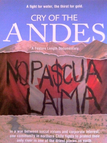 Cry of the Andes DVD in English