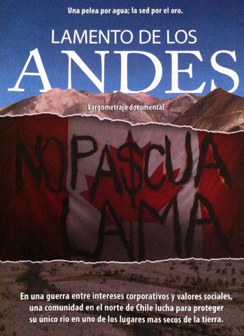 Cry of the Andes DVD in Spanish