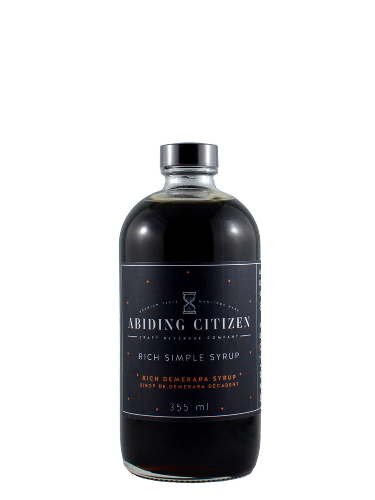 Abiding Citizen Simple Syrups + Tonic Syrups