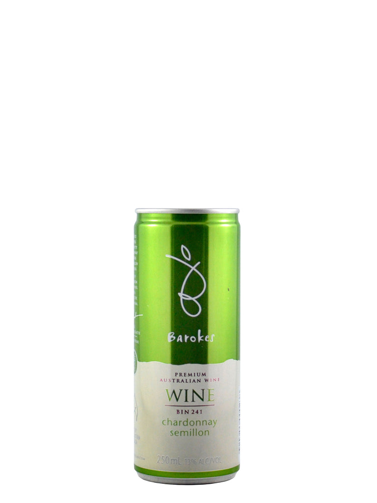 Barokes Bin 241 Chardonnay Semillon 250ml can