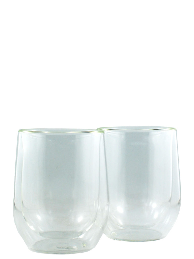 Corkcicle. 12oz Stemless Glass Set - Clear Edition