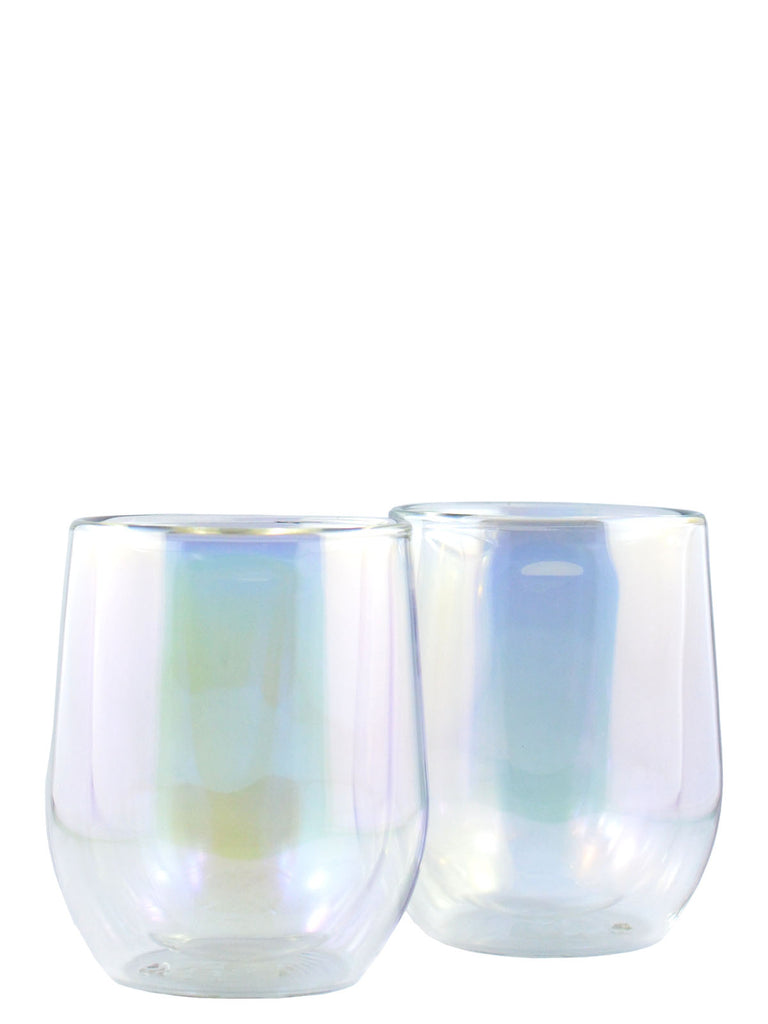 Corkcicle. 12oz Stemless Glass Set - Prism Edition