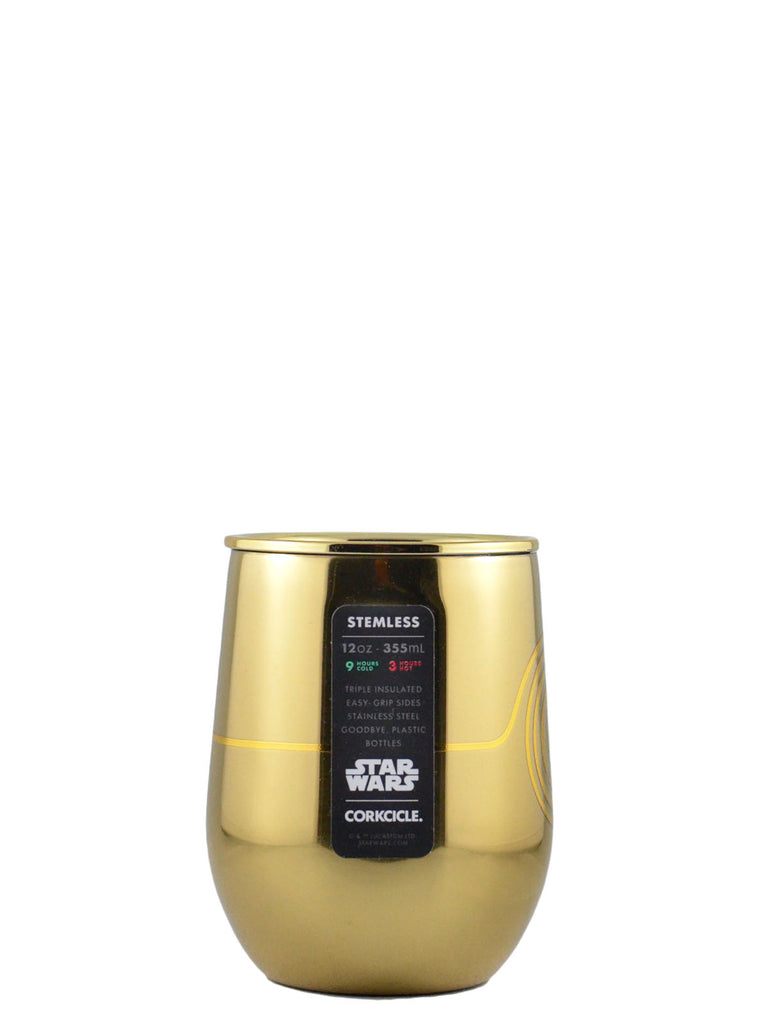 Corkcicle. 12oz Disney & Star Wars Stemless Cup
