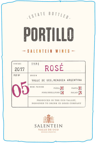 Portillo No. 5 - Estate Bottled Rosé