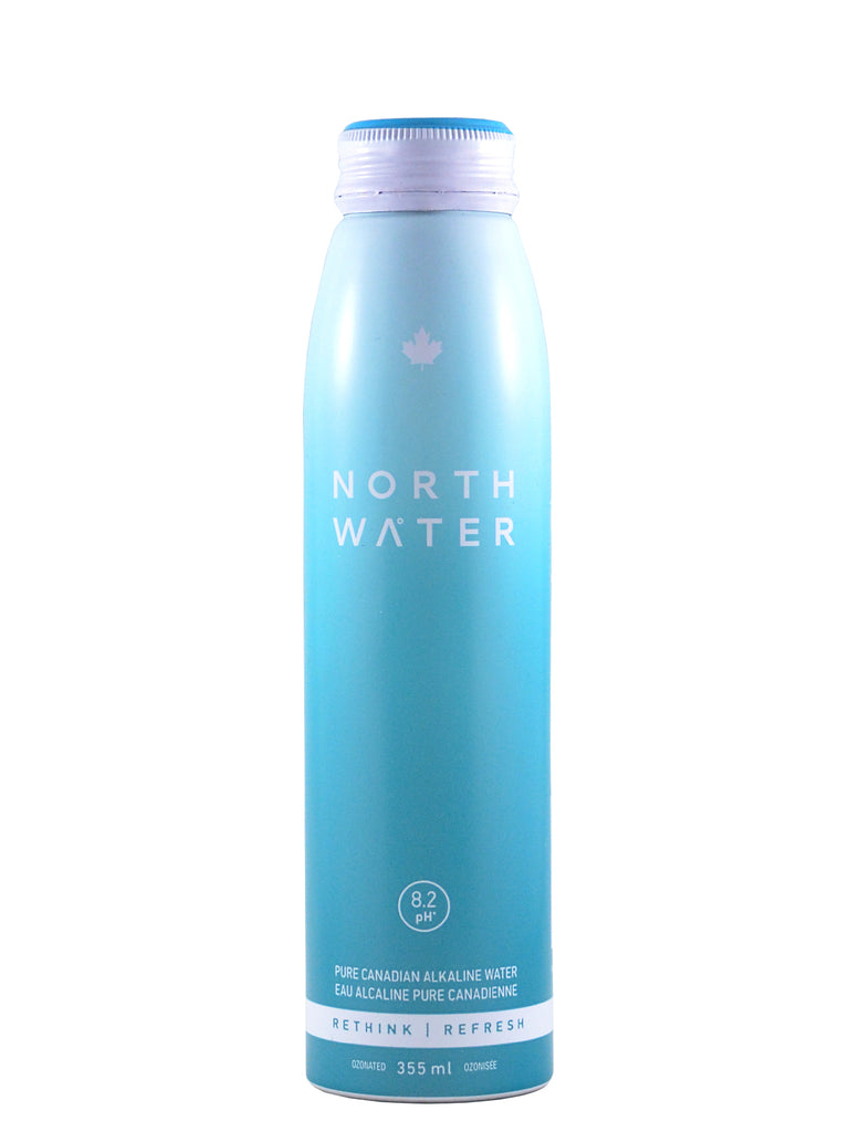 North Water, Canadian Alkaline Spring Water 355ml