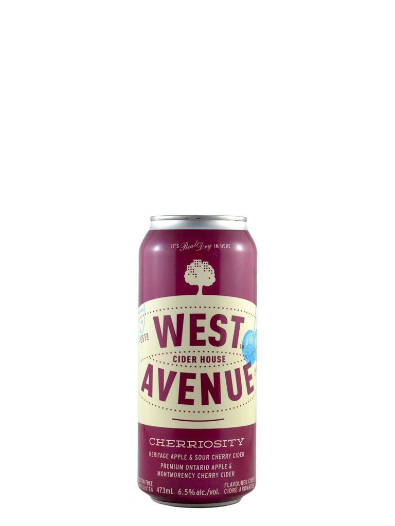 West Avenue, Cherriosity Apple & Sour Cherry 473ml
