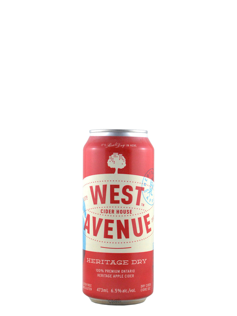 West Avenue, Heritage Dry Cider 473ml