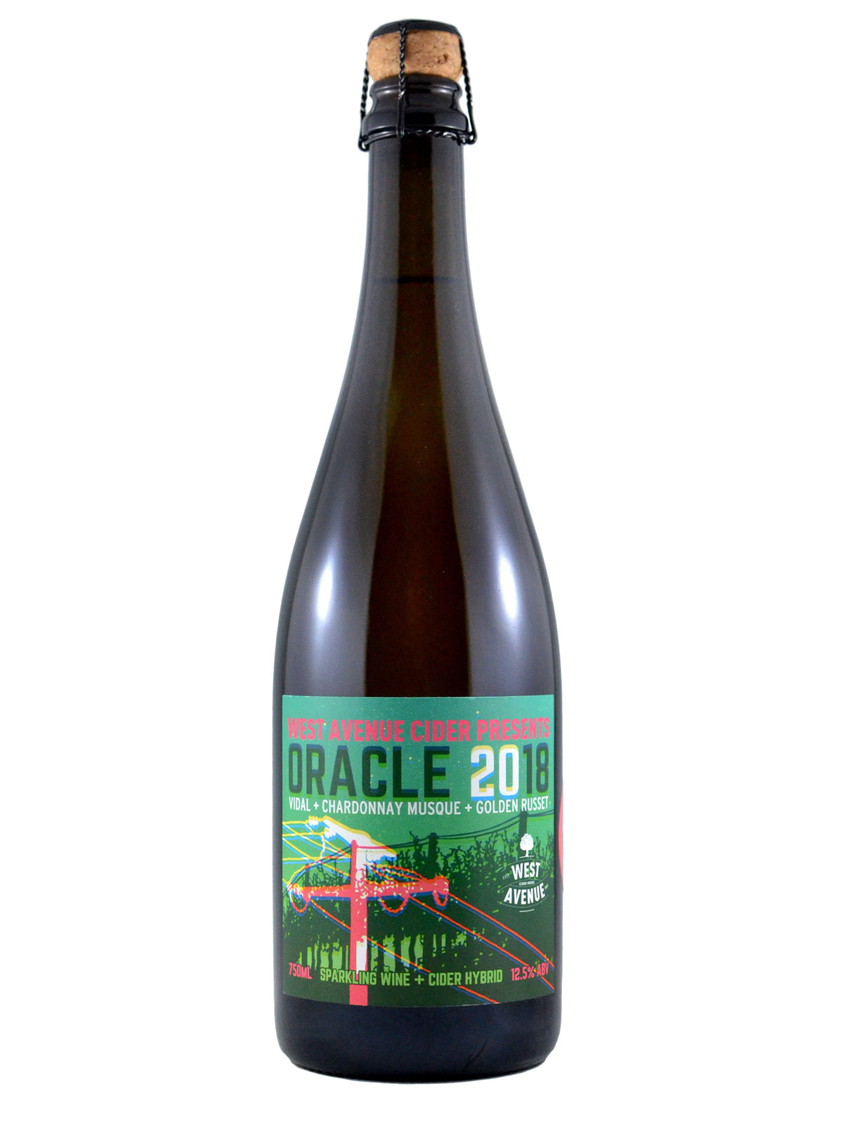 Oracle Sparkling Wine/Cider Hybrid 750ml, 12.5%ABV