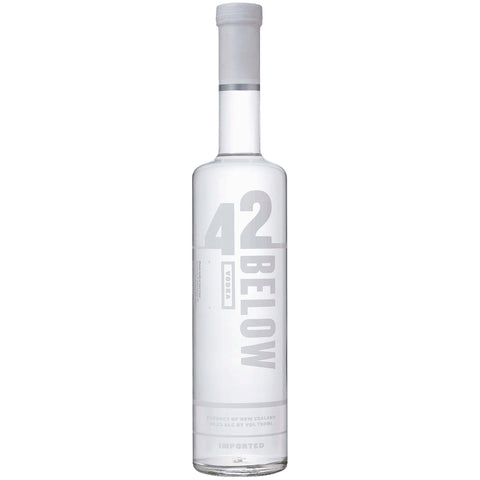 42 Below Vodka is made from New Zealand‰۪s volcanic spring water. Distilled four times, it contains qualities of cleanliness and purity.