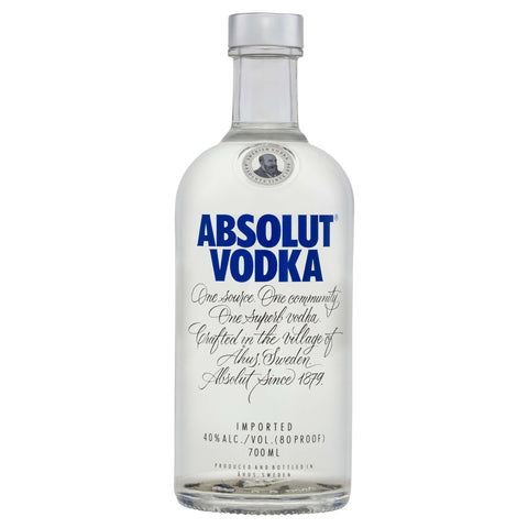 The New York launched Absolut Vodka is made from natural ingredients, the main ingredients being water and winter wheat.